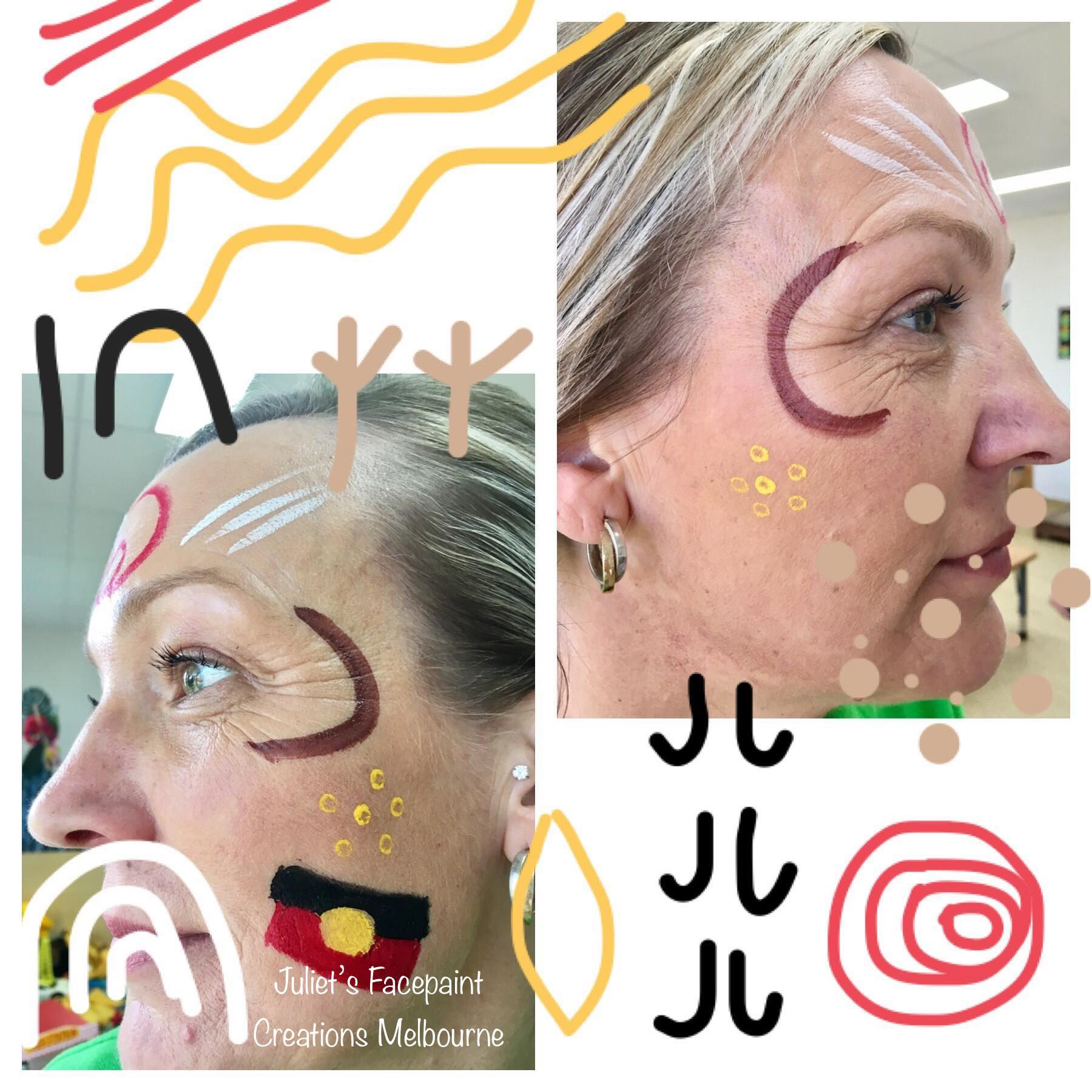 Naidoc Week 2019 Face Painting Face Painting Kids Face Paint Face