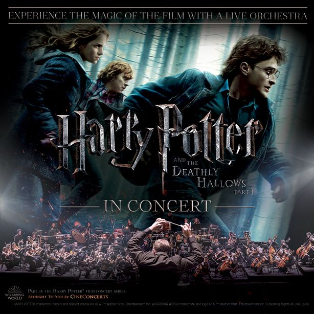 Postponed Harry Potter And The Deathly Hallows Part 1 In Concert In 2021 Concert Deathly Hallows Part 1 The Hallow