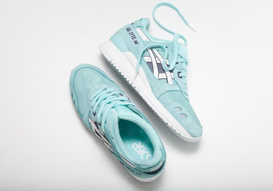 Asics is serving us Christmas in July with the release of their new Gel Lyte III model. The winter inspired woman's shoe features an ice blue and suede combination on the […]