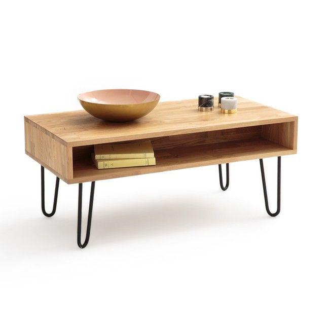 Flacher Tisch Adza Eiche Wohnzimmertische Couchtisch Eiche