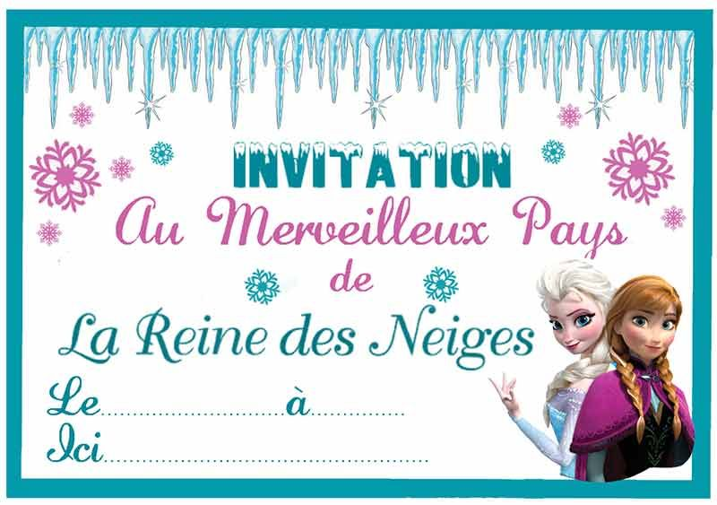 Un anniversaire sur le thme reine des neiges pinterest bonheur cartons dinvitations imprimables gratuits pour anniversaire reine des neiges stopboris Images
