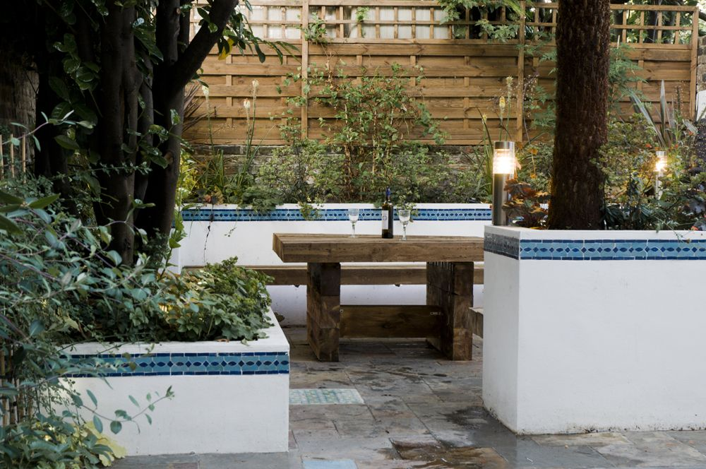 Courtyard Garden Ideas Uk the outside space was in poor condition when the current owners