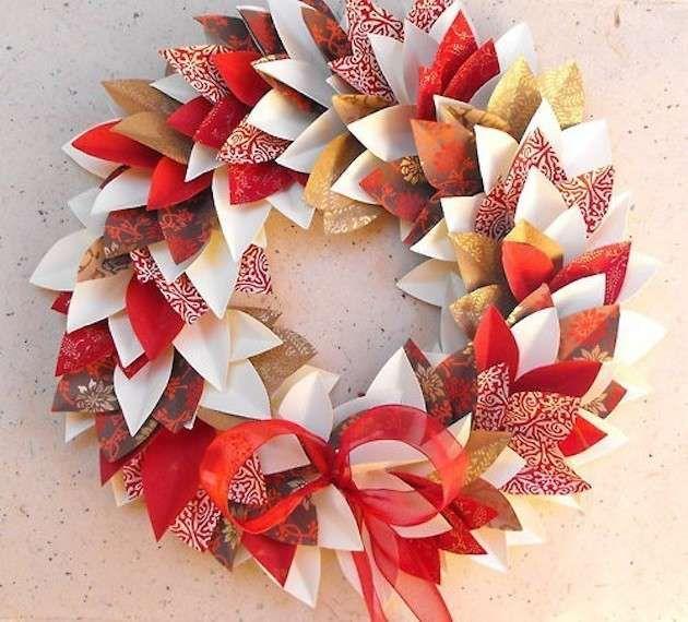 Photo of Ghirlande natalizie fai-da-te – Con origami