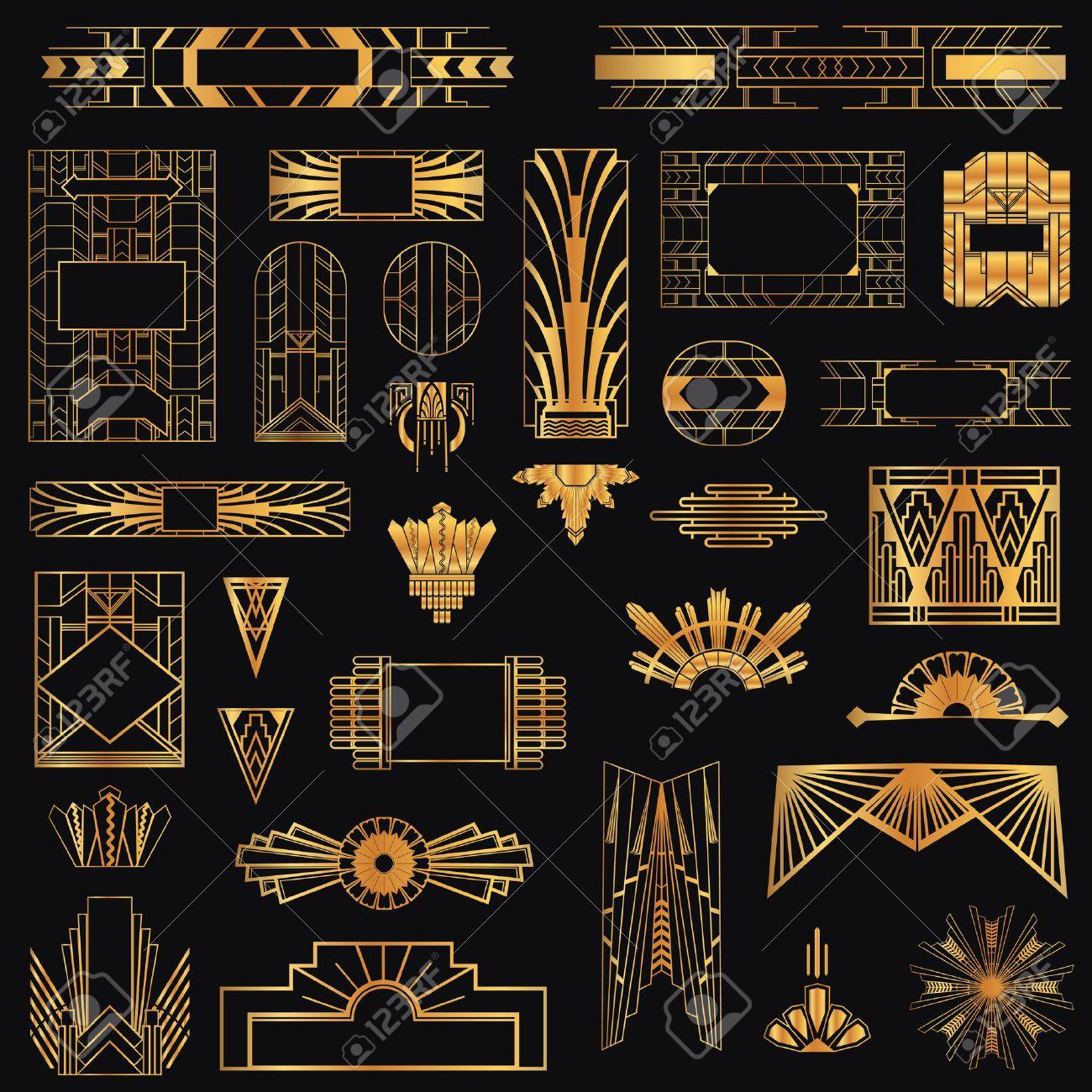 Art Deco Designs: Stock Photo In 2019
