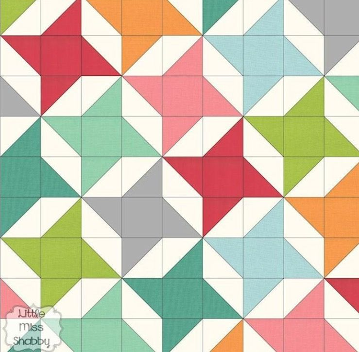 Easy Quilt Idea Star Quilt Patterns Quilts Triangle Quilt