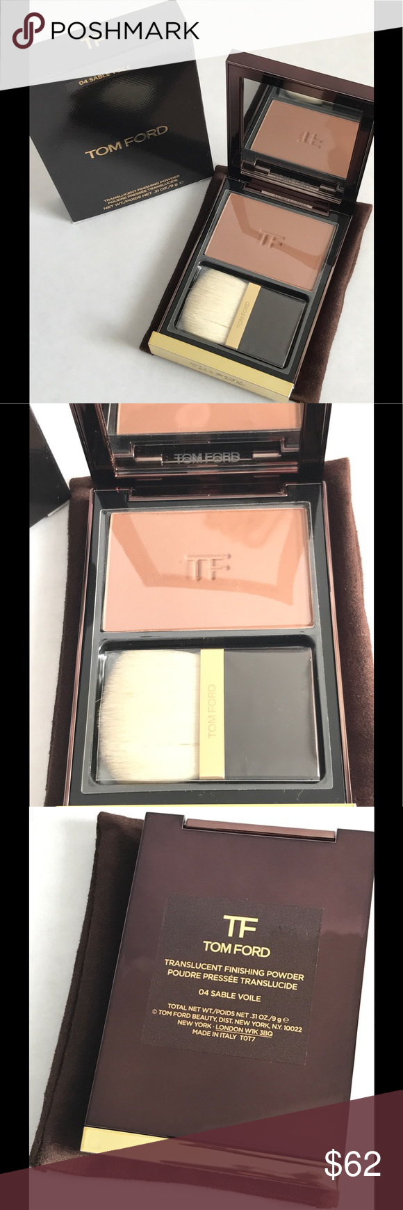 c5adce20ca007 Tom Ford Translucent Finishing Powder Sable Voile Authentic Tom Ford  Translucent Finishing Powder Sable Voile 04. Brand new in box Tom Ford  Makeup Face ...