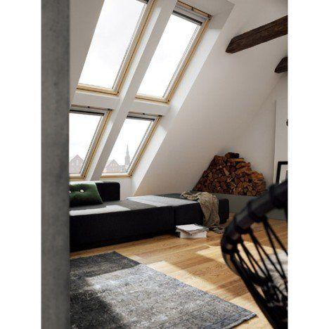 Velux Ggl Mk04 Confort Integra Par Rotation 78 X 98 Cm Loft Decor Interior Architecture Living Room Loft Design