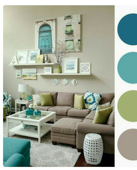 10 Stunning Turquoise Color Scheme For Living Room