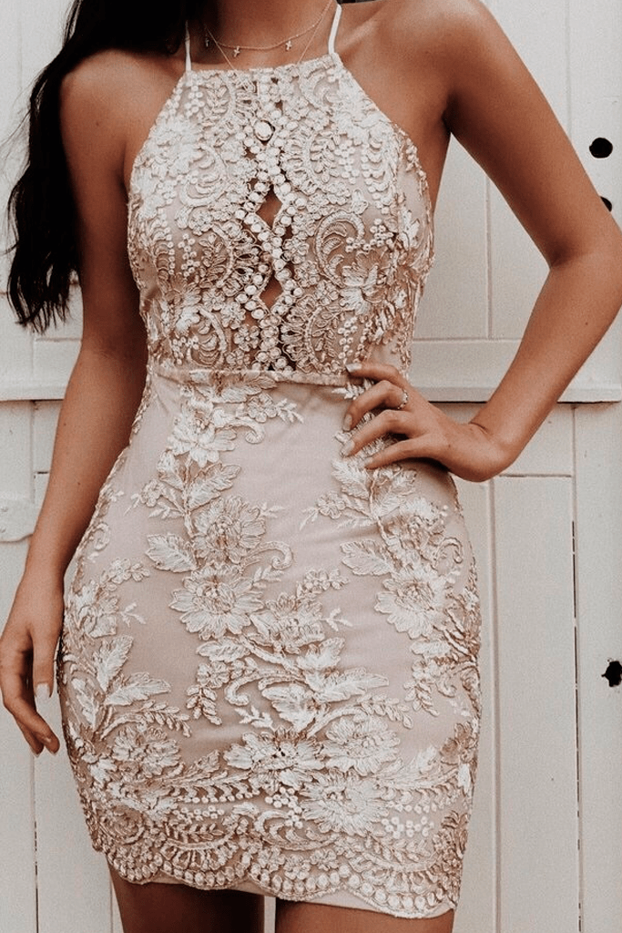 502d6f76 Crystal Rose Dress in 2019 | Homecoming | Prom dresses, Formal ...