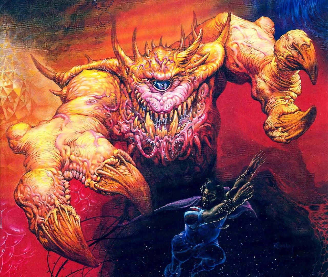 80s Fantasy Art One Of My Absolute Fave Pieces By Jeff