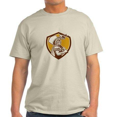 Roman Centurion Carry Flag Crest Retro Light T Shirt Roman Centurion Carry Flag Crest Retro T Shirt By Patrimonio Cafepress Retro Tshirt Retro Shirt Designs