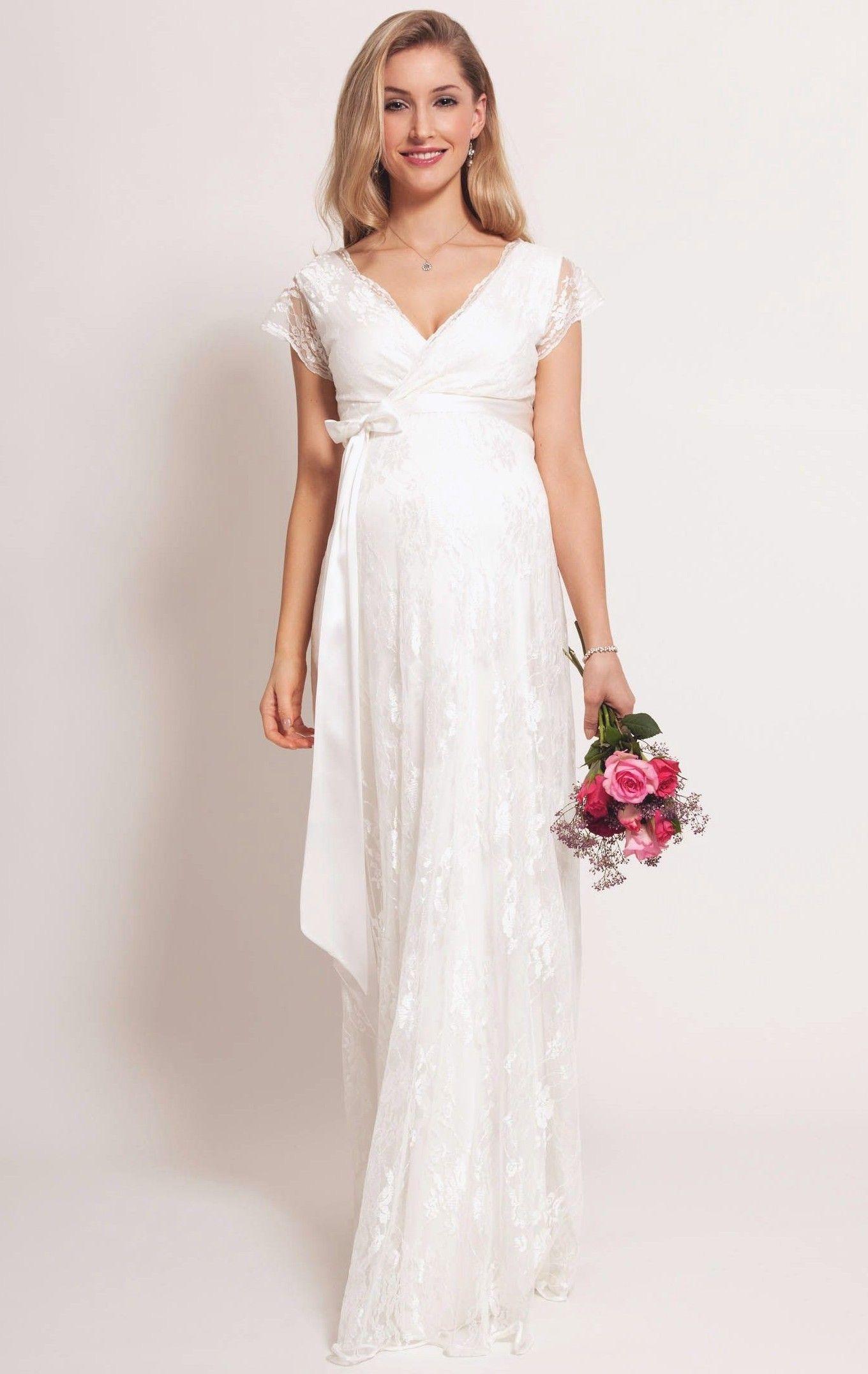 6d123a248a576 70+ Wedding Dress for Pregnant Brides Ideas | Wedding dresses ...