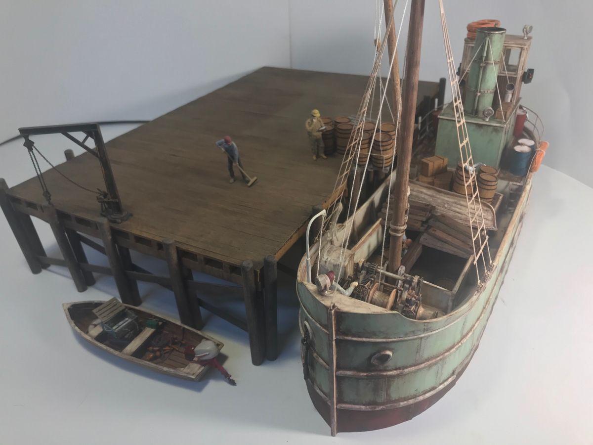 O 1 48 Scale Resin Kits Model Boats Building Model Boats Model Train Scenery