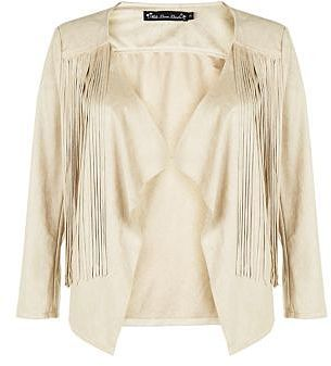 Womens cream jacket from New Look - £26 at ClothingByColour.com