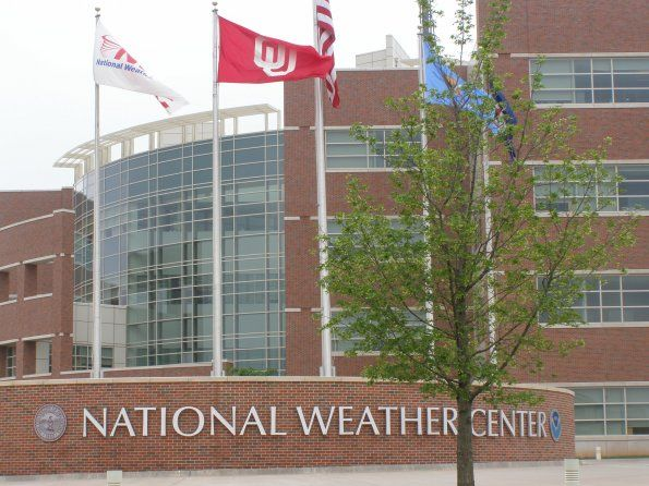 National Weather Center on the campus of the University of