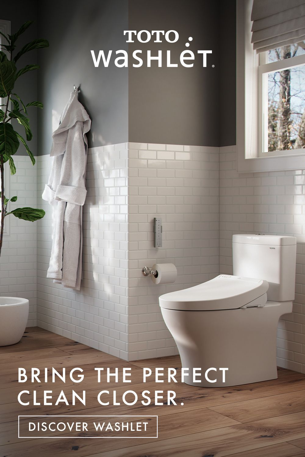The Premium Bidet Seat That Easily Installs For An Instant Transformation Master Bathroom Makeover Washlet Small Bathroom Remodel