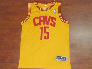 70b755f82add cleveland cavaliers nba anthony bennett 15 yellow basketball jersey ...
