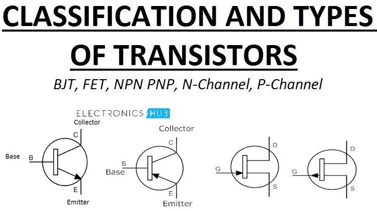 Types Of Transistors Junction Transistors And Fets En 2020