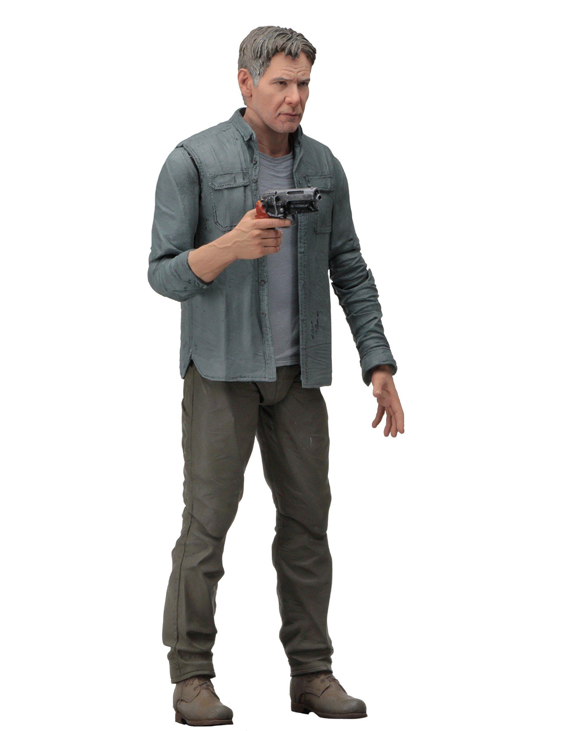 """Deckard /""""Harrison Ford/"""" Blade Runner 2049 NECA 2017 7/"""" Inch Action Figure"""