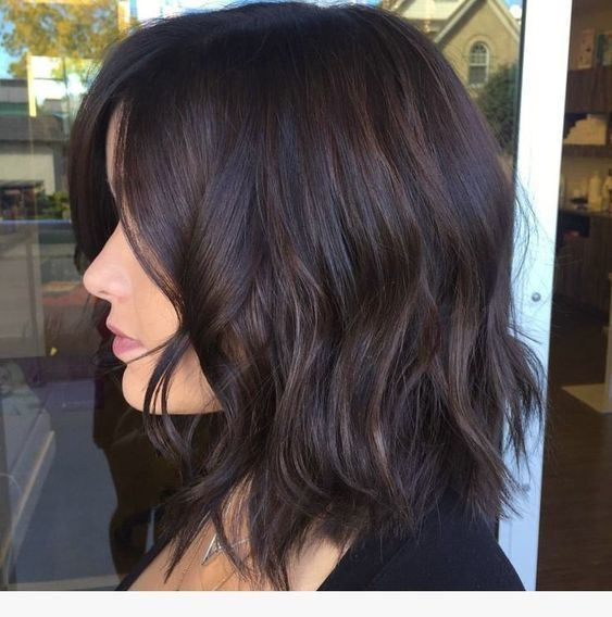 23 Best Medium Length Hair With Layers In 2019 Medium Length Hair Styles Hair Highlights Thick Hair Styles