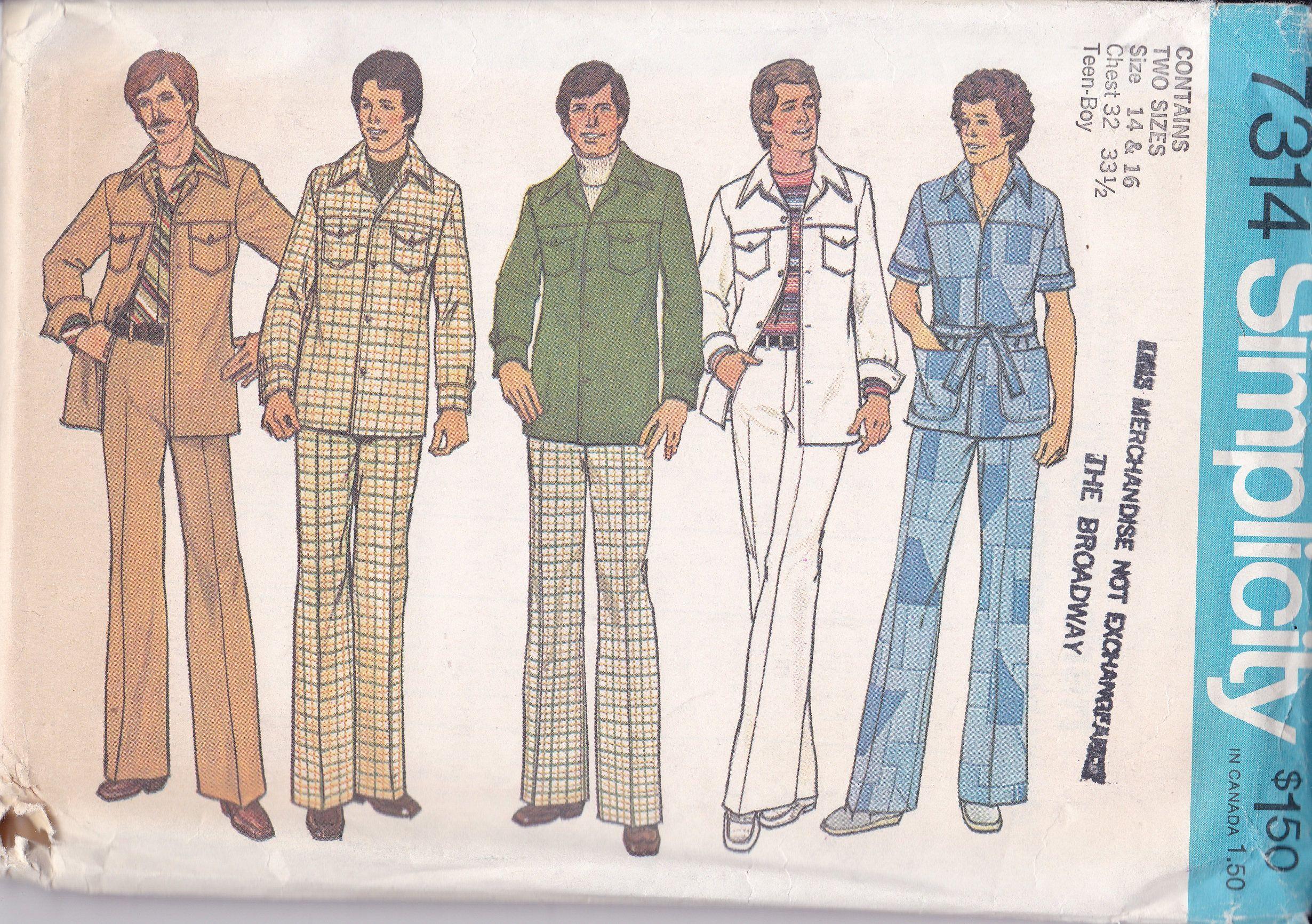 Pin On Boy S Vintage Retro Sewing Patterns