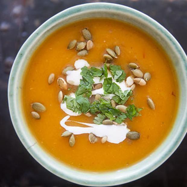 Chipotle Pumpkin Soup   Food   Pinterest   Pumpkin soup ...