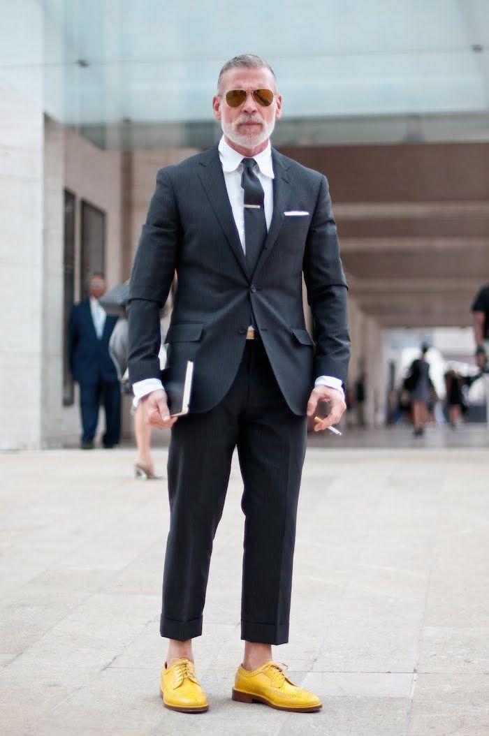 e08a5e10491d56 Conseils : Comment choisir des souliers pour homme adaptés à son style ? |  Wardrobe - Men's Fasions | Nick wooster, Most stylish men et Style