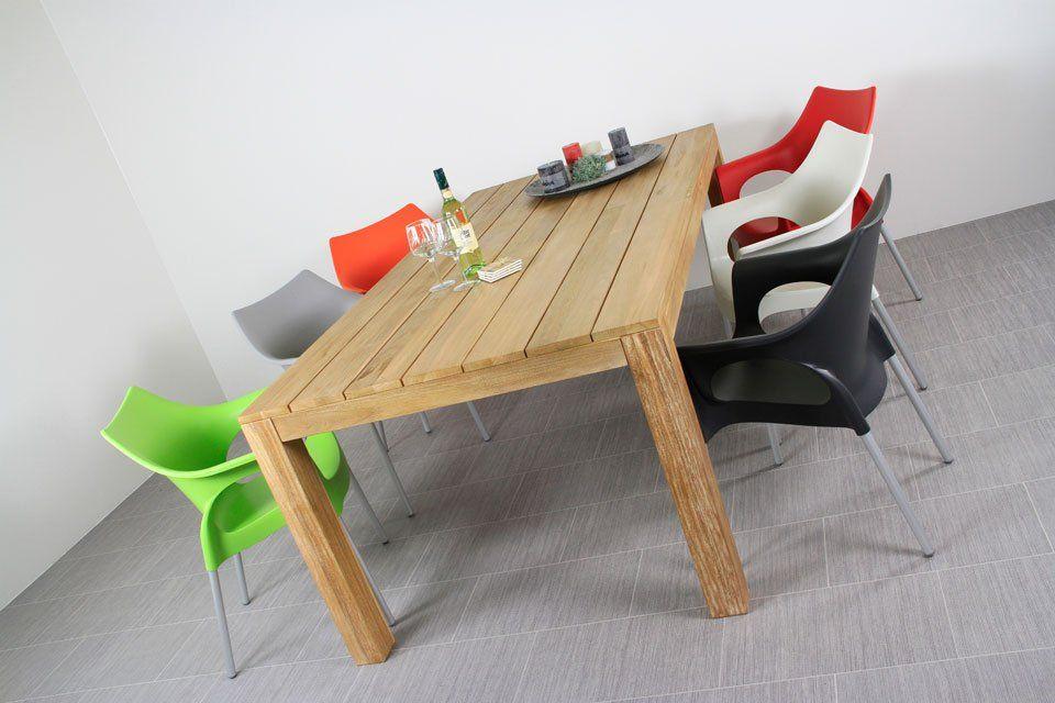 Scab Ola design tuinstoelen   met teak houten tuintafel   Gratis thuisbezorgd!   Tuinset