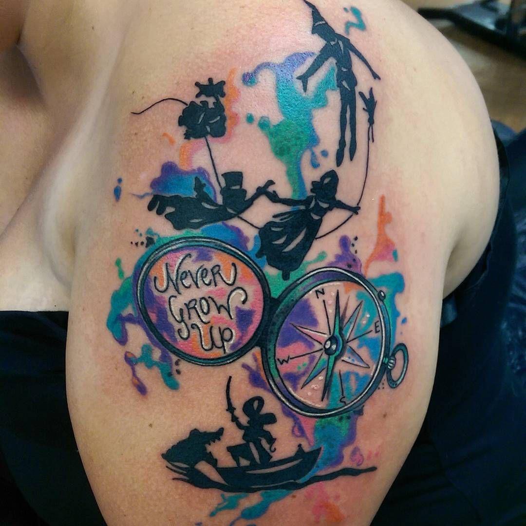 70 Elegante Peter Pan Tattoo Designs Bedeutungen Top Of 2018 Bedeutungen Designs Elegante Peter Tattoo Peter Pan Tattoo Tattoos Pattern Tattoo