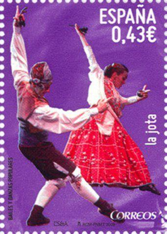 Spain - La jota, bailes y danzas populares