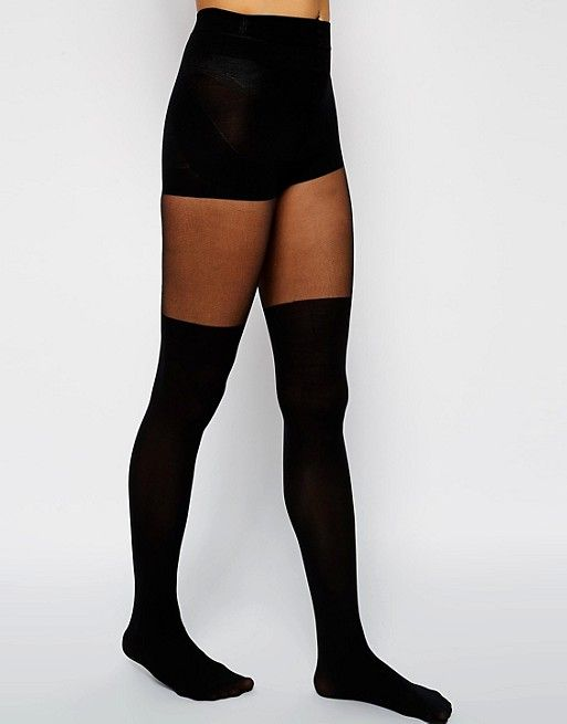 992cb796c01 DESIGN mock over the knee tights with bum and tum support in 2019 ...