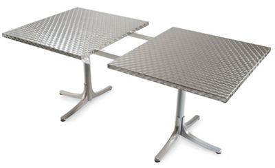 Inox Table Extendable Modern Outdoor Dining Modern Outdoor