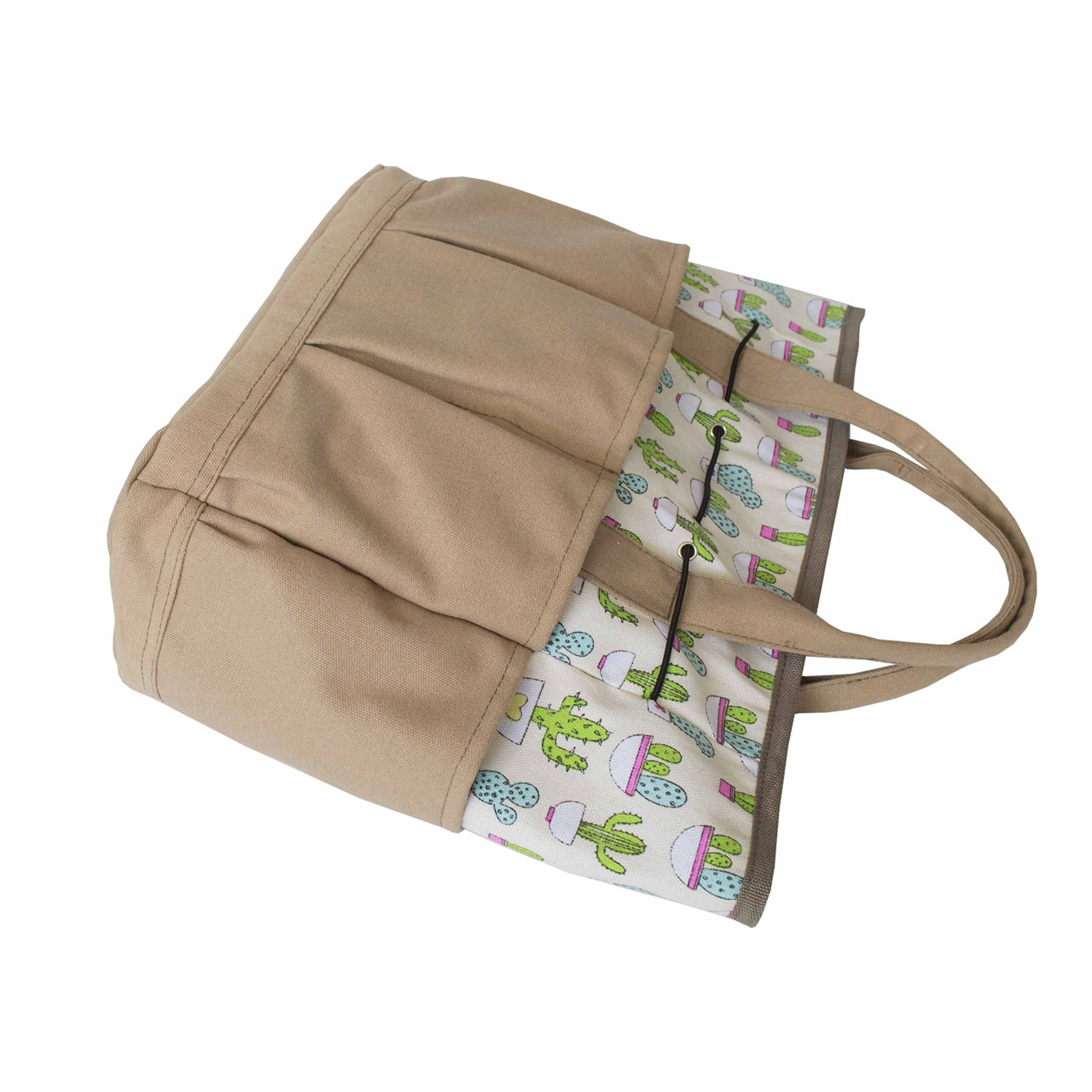 636db96328fb Outdoor Multi Pocket Gardening Tool Organizer Tote Bag Carrier ...