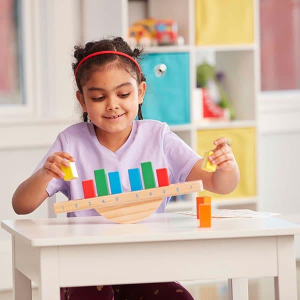 العاب التوازن للاطفال ميزان قوس قزح العجيب العاب تعليمية مسلية فناتير Classic Toys Teaching Colors Rocking Toy
