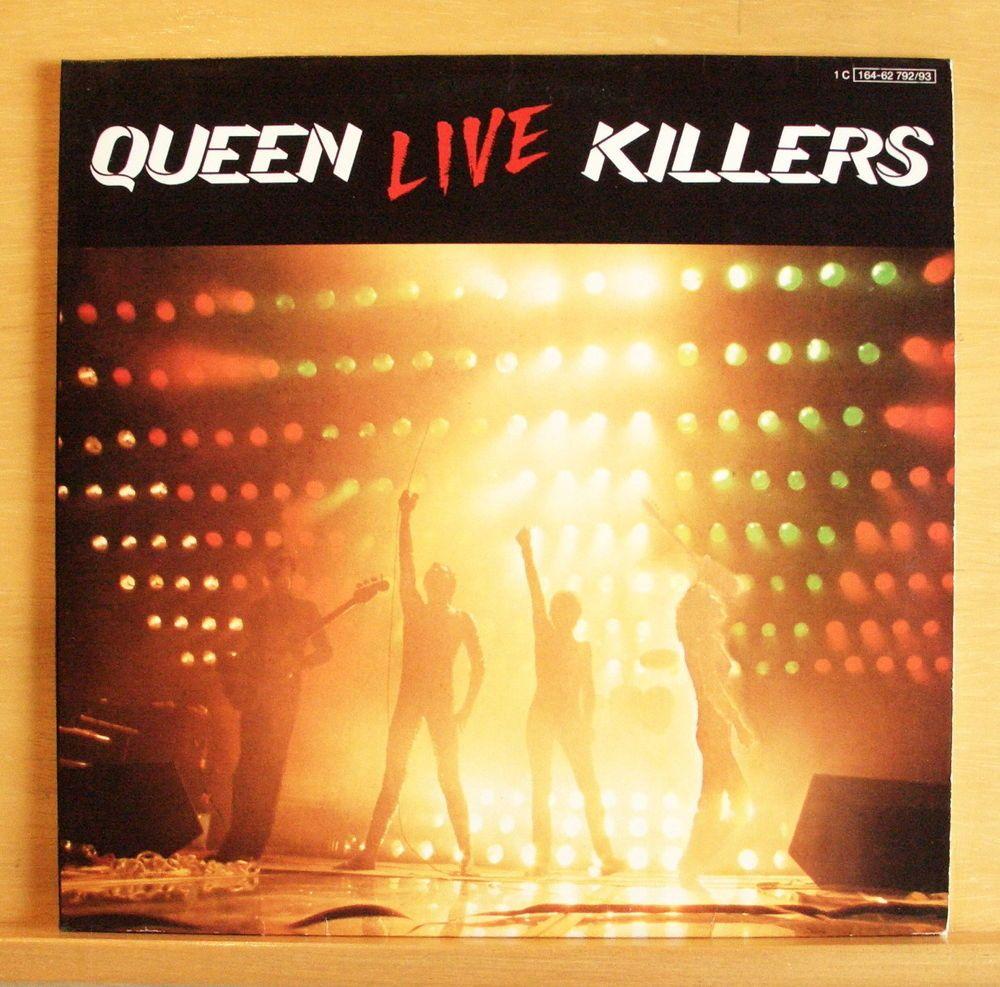 QUEEN Live Killers - Vinyl 2-LP We will rock you Killer Queen Bohemian Rhapsody