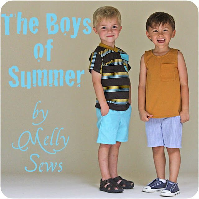 Melly Sews: The Boys of Summer - Sew in Tune Series Kick-Off