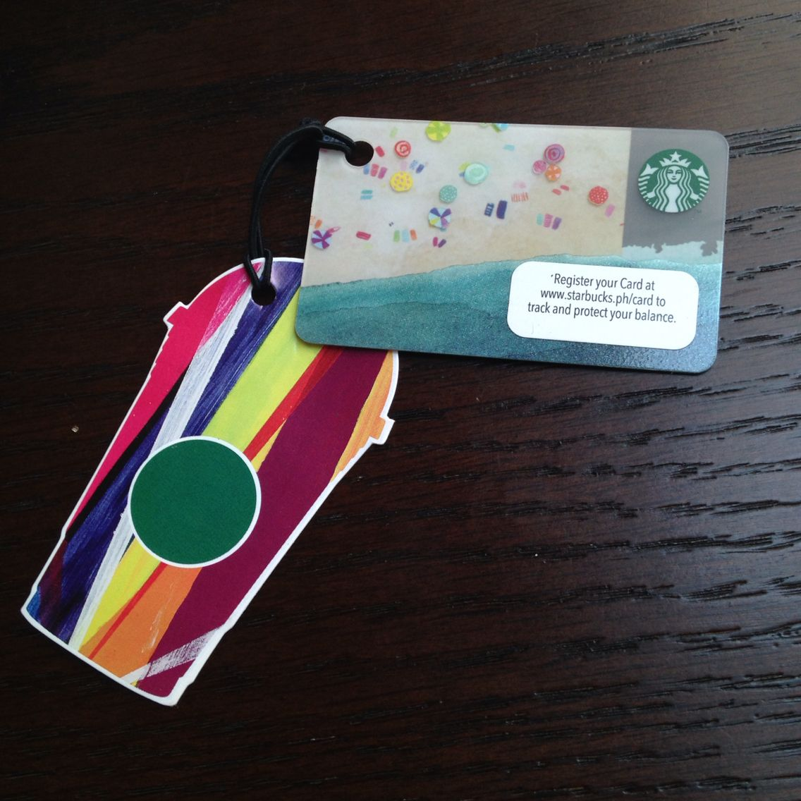 Starbucks Philippines Summer Mini Card (2015)