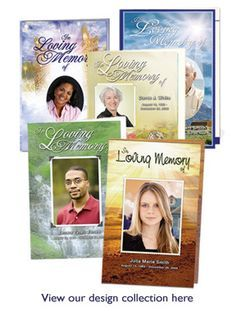Free Funeral Programs Glamorous The Funeral Program Site  Free Template Download  Picture Perfect .