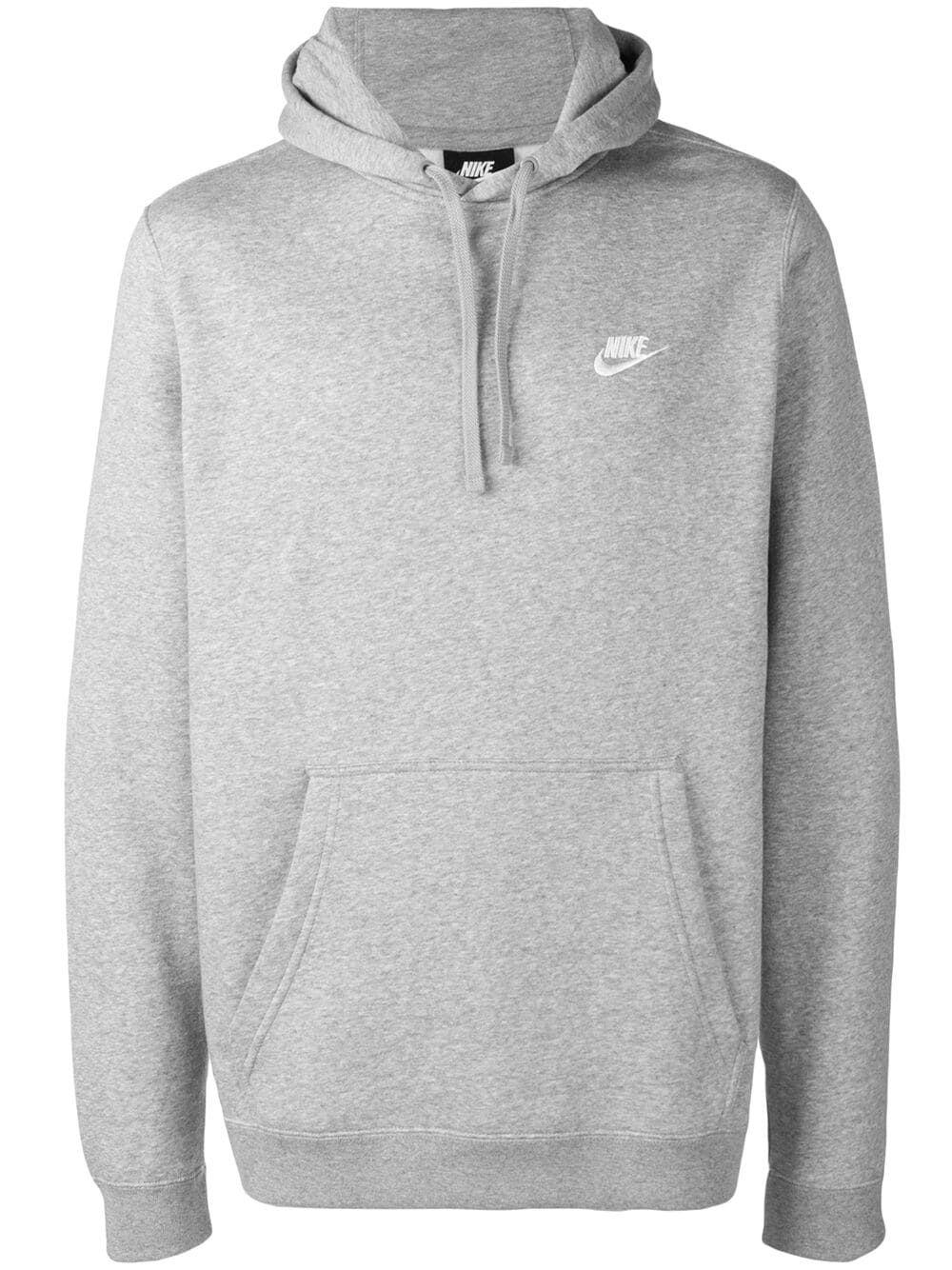 Nike Logo Embroidered Hoodie Grey Modesens Grey Nike Hoodie Nike Hoodie Outfit Nike Sweatshirts Hoodie [ 1334 x 1000 Pixel ]