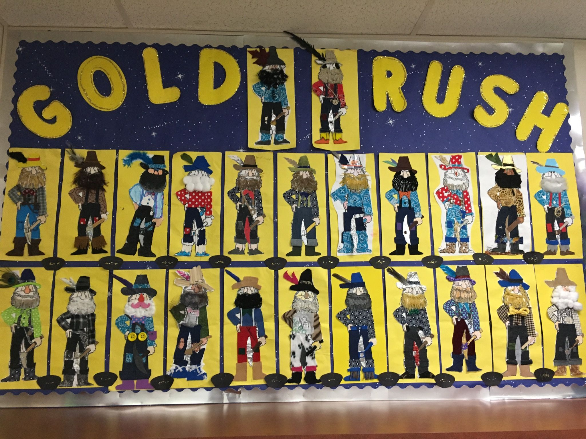 Gold Rush Bulletin Board