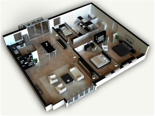 Gambar Rumah Sederhana Tapi Elegan Impian Semua Orang Rumahminimalis Com Denah Rumah Kecil Denah Lantai Rumah Rumah