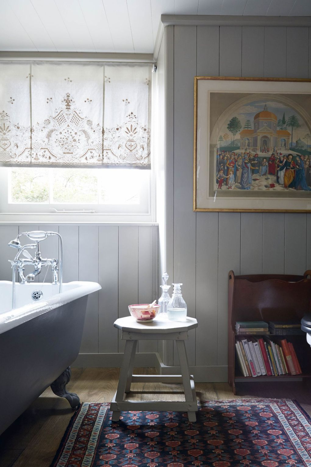 A reading roomcumguestcottage full of hidden surprises and witty