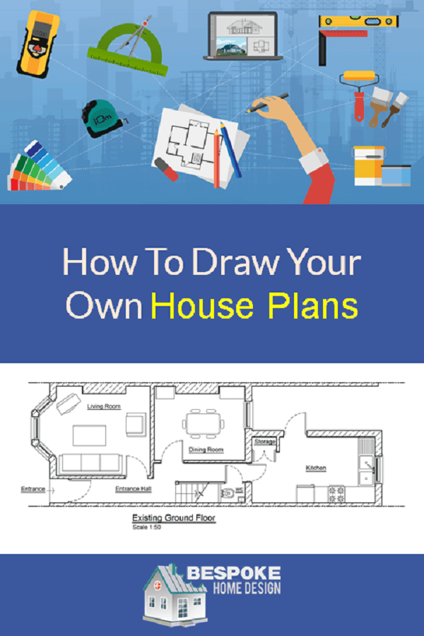 Be Your Own Floorplanner How To Draw Your Own House Plans