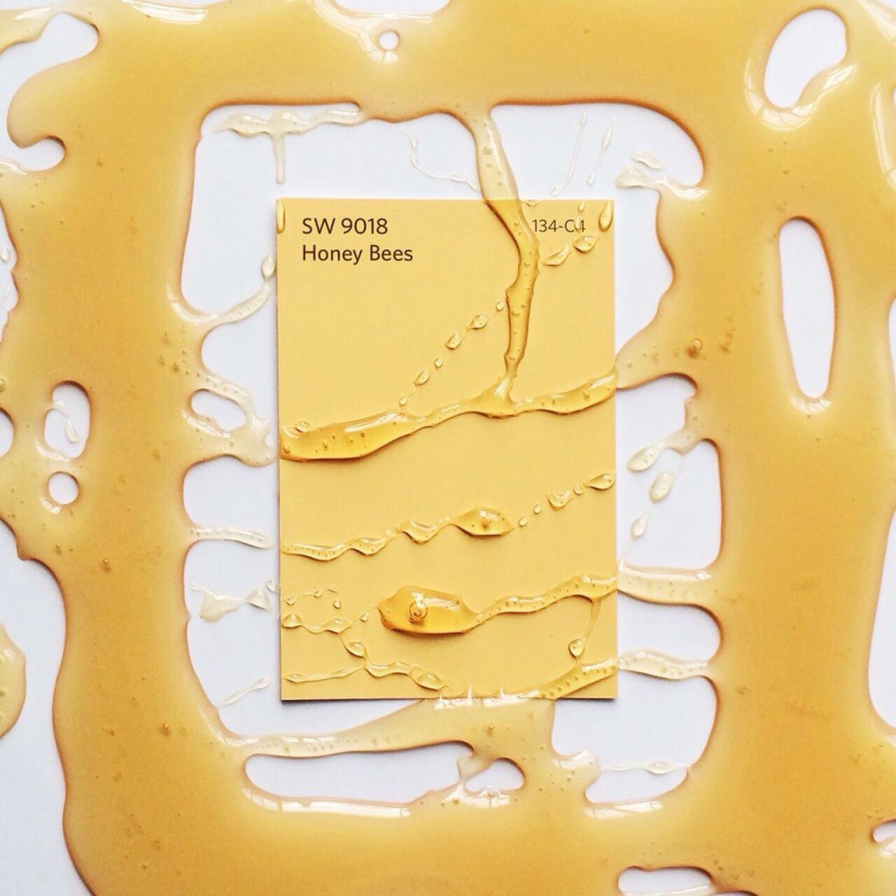 Aesthetic Wallpaper Yellow Honey