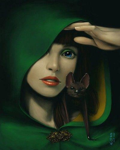 Fantasy Art Druid Female