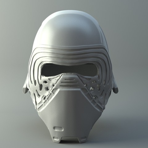 Star Wars Kylo Ren Helmet 3d Print Model Kylo Ren Helmet Star Wars Kylo Ren 3d Printer Designs
