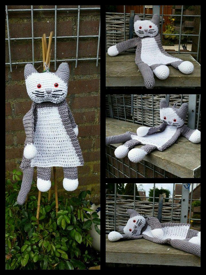 Pin von MJ Bousman auf Crochet - Lovies - CAT | Pinterest | Türen ...