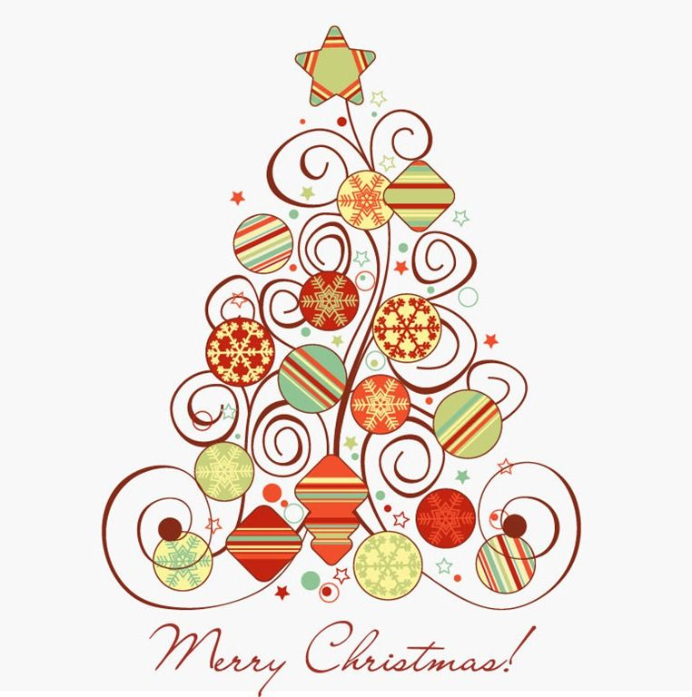 Free Christmas Graphics Name Swirl Floral Christmas Tree Vector Graphic Christmas Graphics Christmas Tree Graphic Floral Christmas Tree