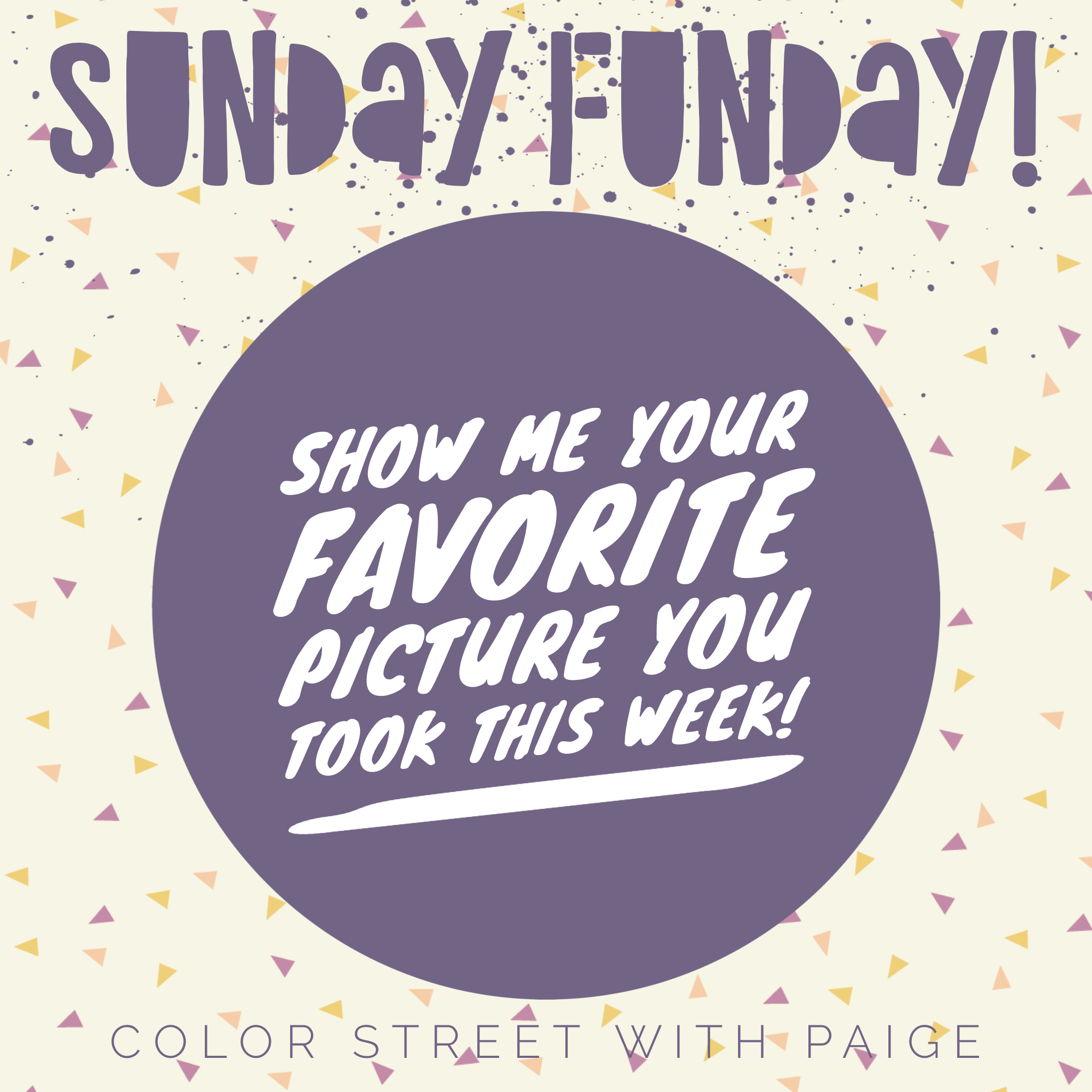 Color Street Sunday Funday Color Street Happy Day Quotes Weekday Quotes