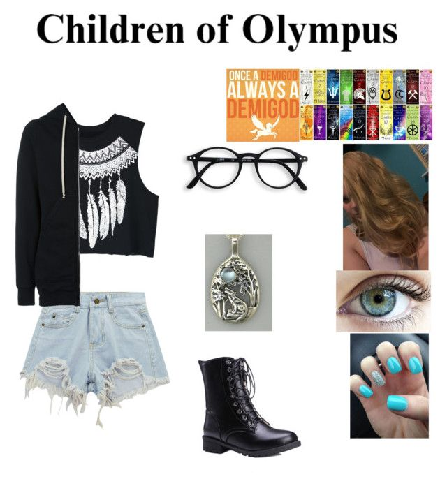"""""""Abagael, Daughter Of Poseidon, Age Thirteen, Camp Half-Blood."""" by thedeadlysin on Polyvore featuring WithChic, Chicnova Fashion, DRKSHDW, percyjackson, daughterofposeidon and SonOfApollo"""